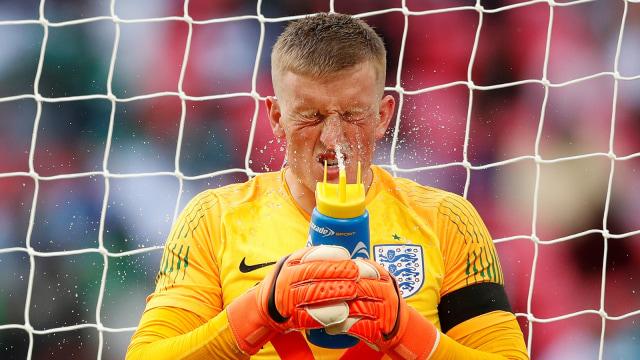 Mabuk & Bernyanyi, Cara Jordan Pickford Lupakan Kekalahan di Final Euro 2020 (109414)