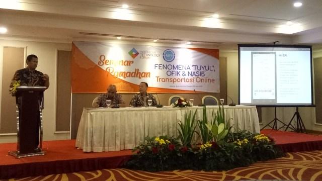 Diskusi Tuyul, Ojek Fiktif dan Transportasi Online