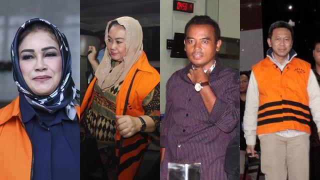 4 kepala daerah di Jateng ditangkap KPK