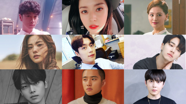 Aktor-idola Korea Selatan