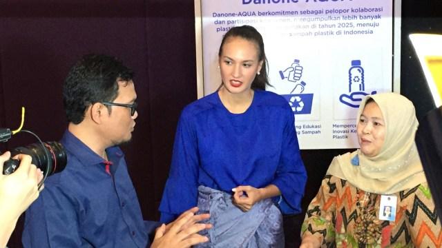 Nadine Chandrawinata #BijakBerplastik