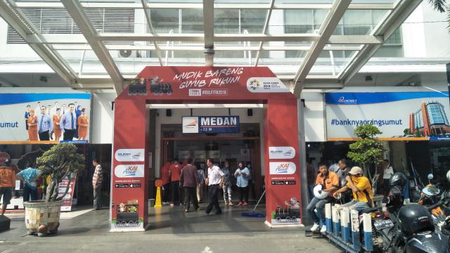 Jumlah Pemudik Kereta Api di Sumatera Utara Naik 2% dari 2017 (870502)