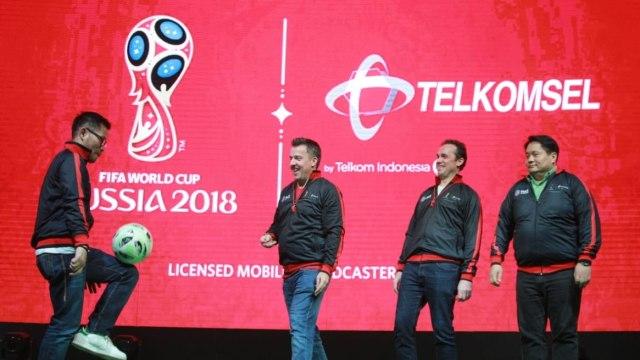 Telkomsel licensed mobile broadcaster Piala Dunia