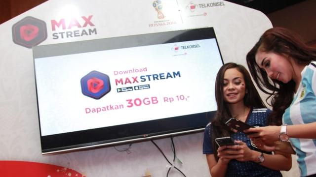 Aplikasi Telkomsel MaxStream