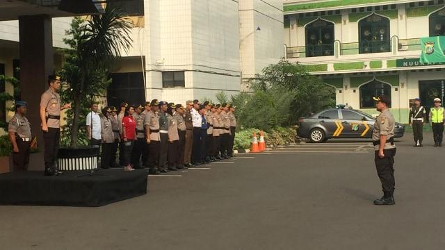 Apel Operasi Ketupat, Kapolres Jaksel Ingatkan Jaga Kantor Polisi (96173)