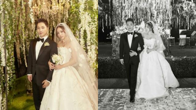 Taeyang 'BIGBANG' dan Min Hyo-rin