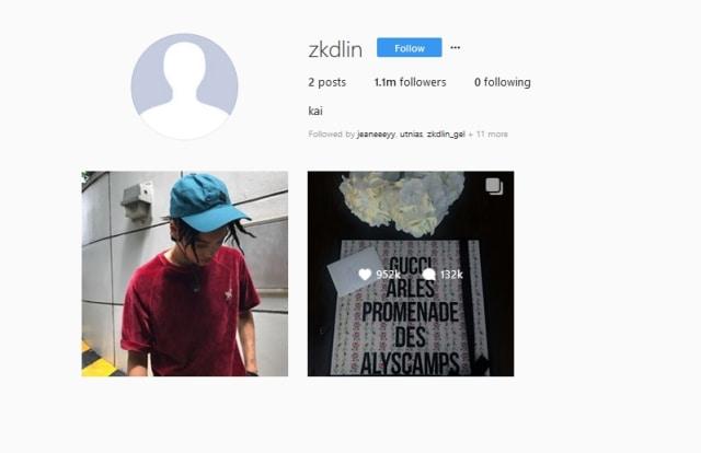 Raih 1 Juta Followers, Kai 'EXO' Pecahkan Rekor Kylie Jenner (847528)