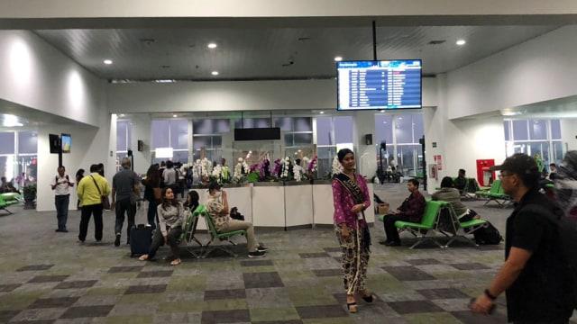 Suasana Terminal Baru Bandara Ahmad Yani di Hari Pertama Beroperasi (188584)