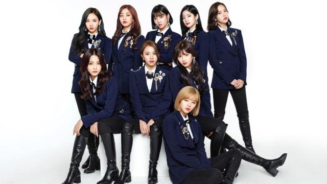 Girlband K-Pop Twice