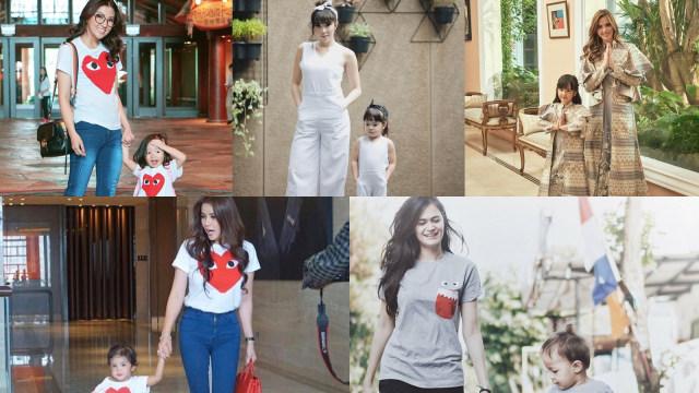 5 Selebriti berbaju kembar dengan ibunya