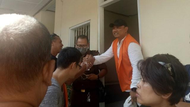 Sidang putusan Mang Jangol di PN Denpasar