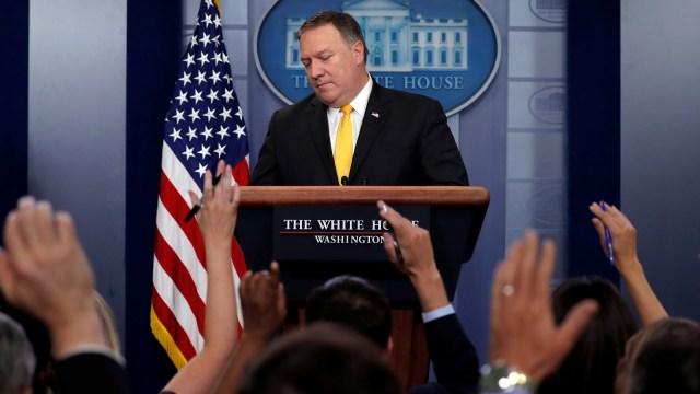 Trump Corona, Menlu AS Pompeo Mempersingkat Kunjungan ke Asia (38224)