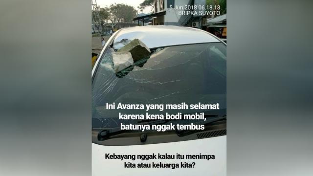 Tragedi Tol Jakarta-Cikampek, Pengendara Mobil Tewas Dilempar Batu (487256)