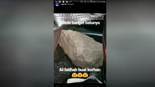 Tragedi Tol Jakarta-Cikampek, Pengendara Mobil Tewas Dilempar Batu (487254)