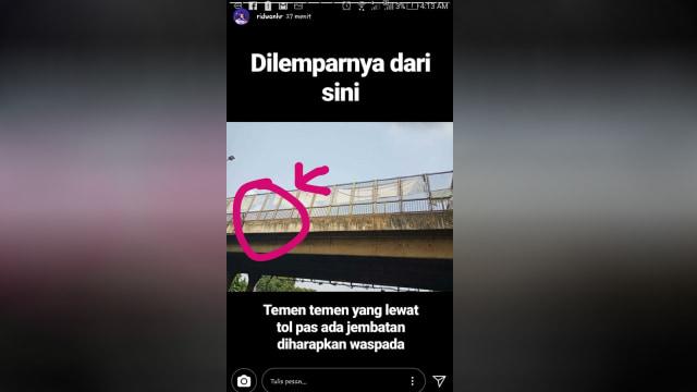 Tragedi Tol Jakarta-Cikampek, Pengendara Mobil Tewas Dilempar Batu (487255)