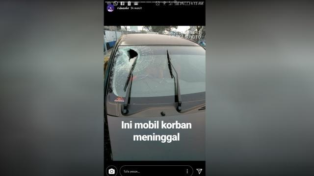 Tragedi Tol Jakarta-Cikampek, Pengendara Mobil Tewas Dilempar Batu (487252)