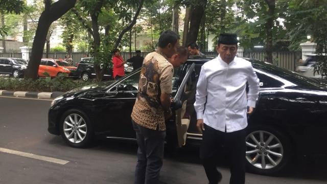 Wiranto di kediaman Megawati