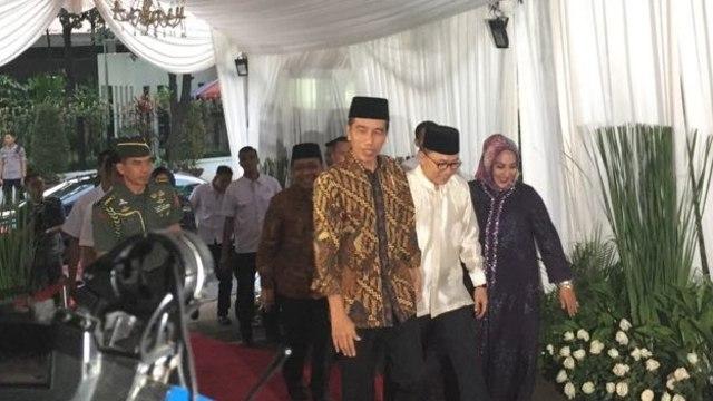 Jokowi di Acara Buka Puasa Bersama Pimpinan MPR