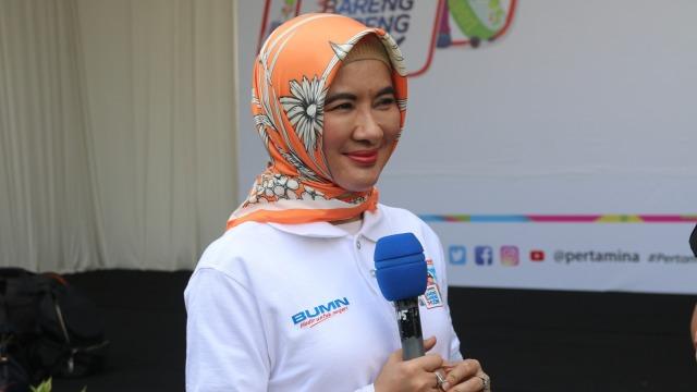Nicke Widyawati lepas Mudik Bareng Pertamina