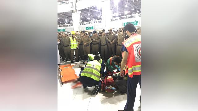 Orang yang bunuh diri di Masjidil Haram