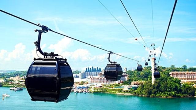 Singapore Cable Car.