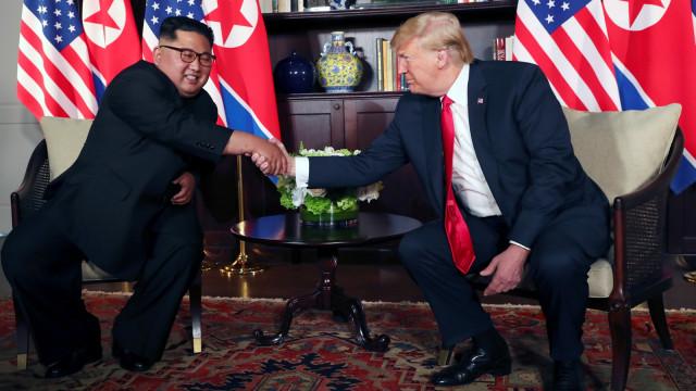 Transkrip Lengkap Obrolan Singkat Kim dan Trump (762826)