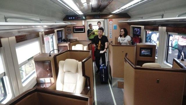 Kereta Sleeper Resmi di Operasikan