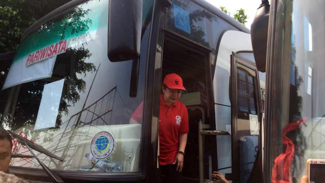 PDIP Berangkatkan 8.100 Pemudik Gunakan Bus, Dilepas Puan Maharani (904523)