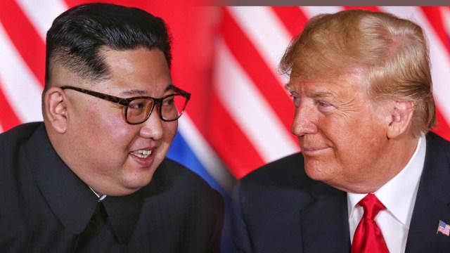 Kim Jong-un dan Donald Trump