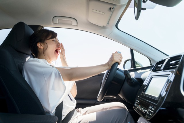 Mengantuk saat mengemudi