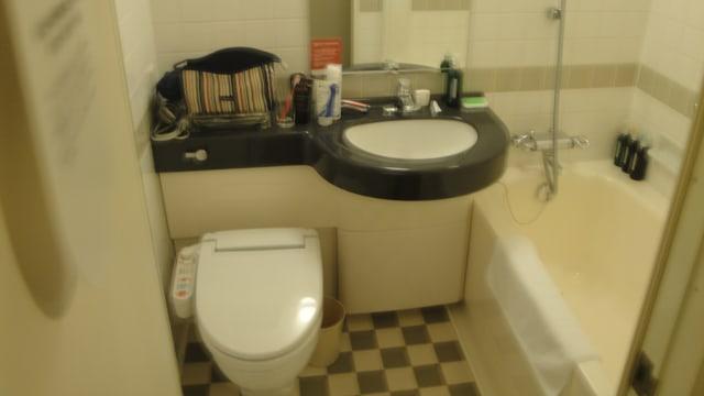 Ilustrasi Toilet Hotel