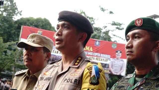 Polisi : 11 Ruko Rusak karena Ledakan Tabung Gas di Jaksel (97069)
