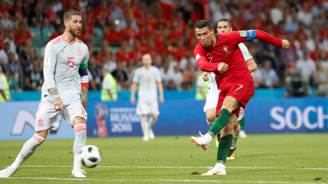 Spanyol vs Portugal