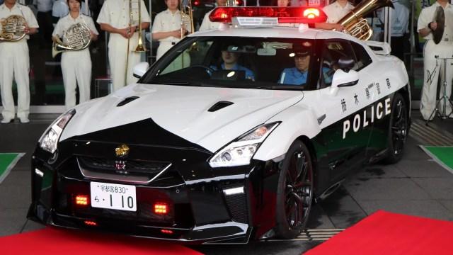 Di Jepang Nissan GT-R Jadi Mobil Dinas Polisi (36107)