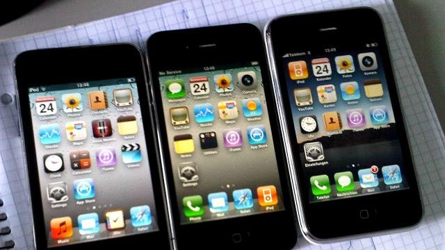 iPod, iPhone 4, dan iPhone 3GS