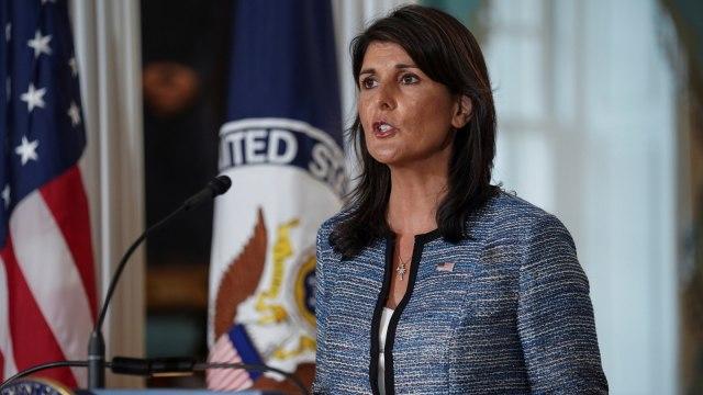 Dubes AS untuk PBB, Nikki Haley