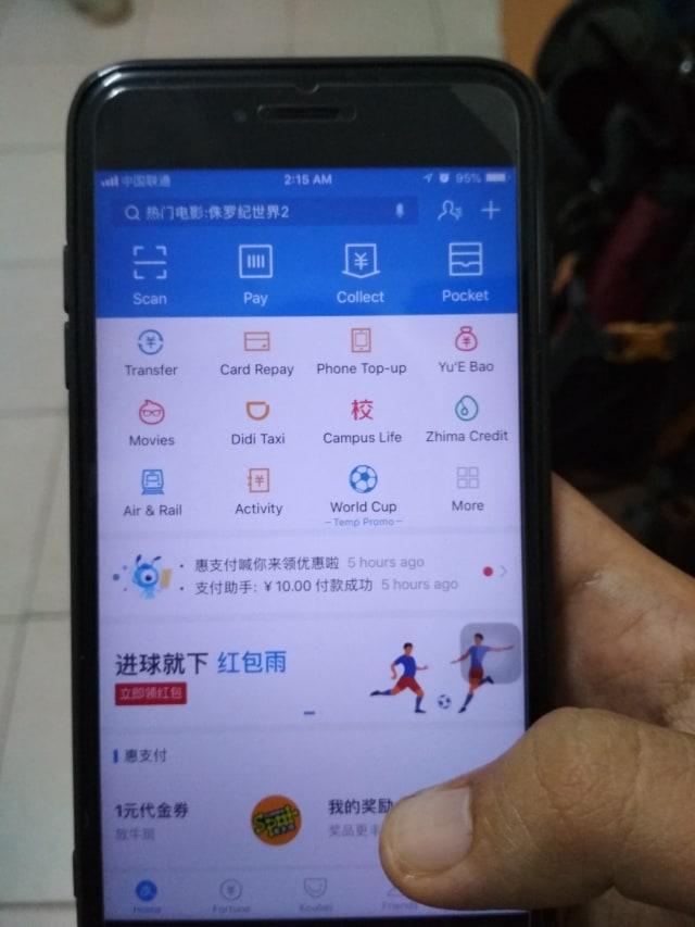 Syarat Alipay dan WeChat Beroperasi di RI: Hanya Layani Turis China (214588)