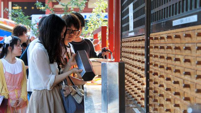 Mengenal Ramalan Khas Jepang, Omikuji yang Jadi Favorit Wisatawan (267999)
