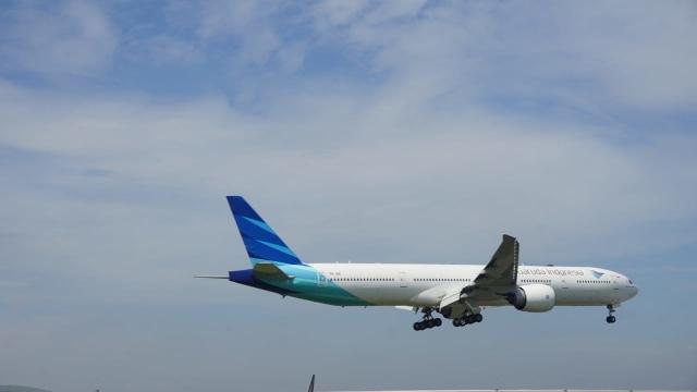 Pesawat Garuda Indonesia Tergelincir Saat Mendarat di Yogyakarta (512314)
