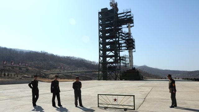 Sohae, fasilitas rudal di Korut