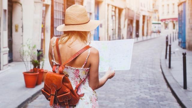 Ilustrasi Solo Traveling