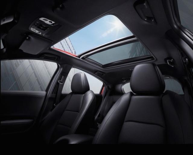 Interior Honda HR-V facelift