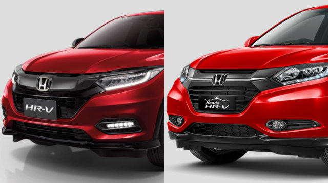 Perbandingan Honda HR-V facelift dan lawas