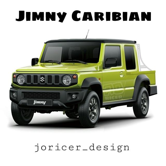 Ragam Modifikasi Digital Suzuki Jimny Terbaru  (124668)
