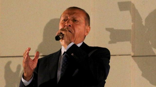 Presiden Turki, Tayyip Erdogan