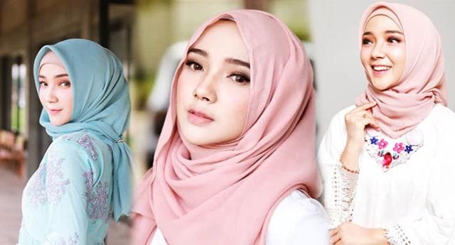 Begini Loh 4 Cara Memakai Hijab Untuk Pipi Chubby Kumparan Com