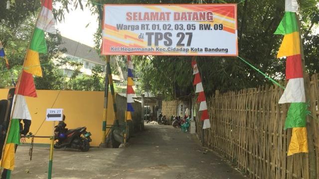 TPS tempat Sudrajat Nyoblos