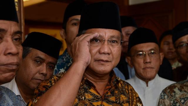 Lipsus Prabowo Limbung