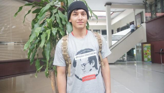 Jefri Nichol Pakai Kaus #bersamatyopakusadewo