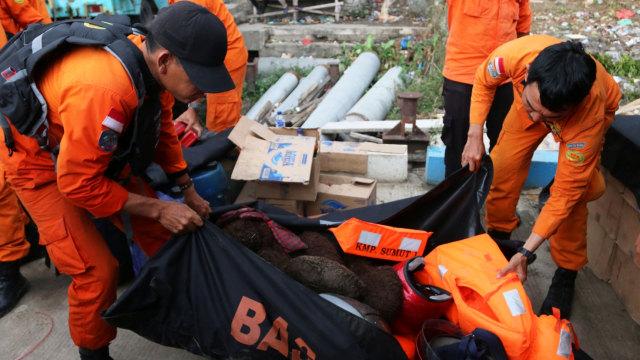 Temuan barang penumpang KM Sinar Bangun